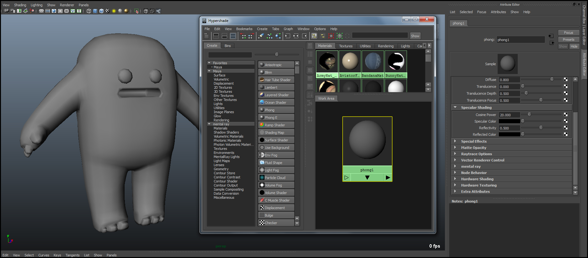 GUIDE Texturing In Maya For Color 3D Printing Tutorial